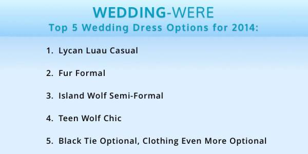 WereWatchers - Advice - Wedding Attire - Featured