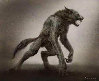 Narnia - Prince Caspian Werewolf Art