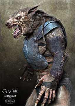 Gladiators V Werewolves poster