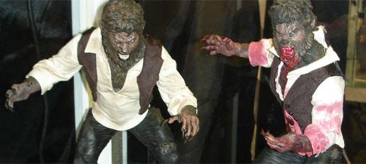 Mazco Wolfman Figures - SDCC