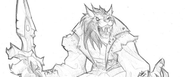World of Warcraft - Worgen Concept Art 4