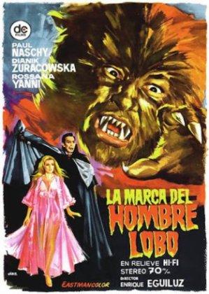 """""""La Marca del Hombre Lobo,"""" starring Paul Naschy"""