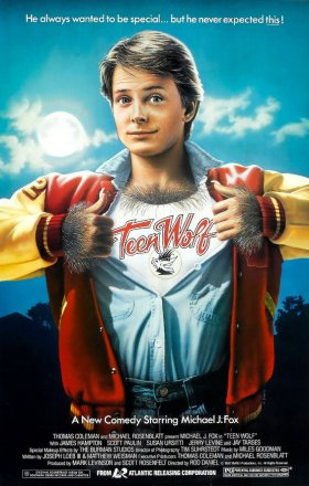 "Michael J. Fox in ""Teen Wolf"""