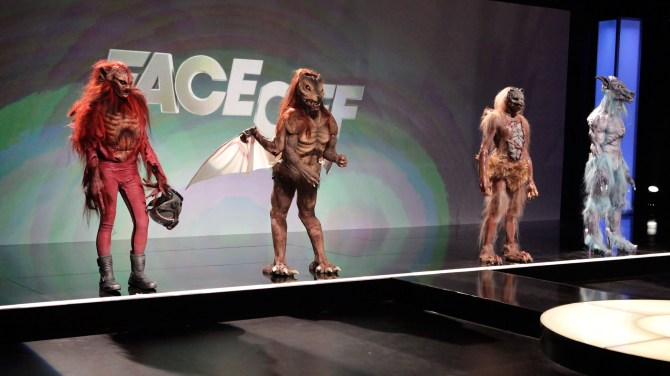 Face Off Space Werewolves