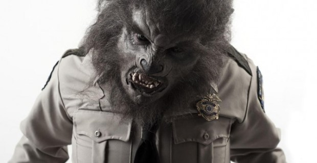 Wolf Cop makeup