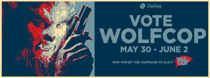 VOTE WOLFCOP Facebook Cover