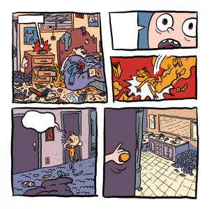 Spooky Sleepover - panels