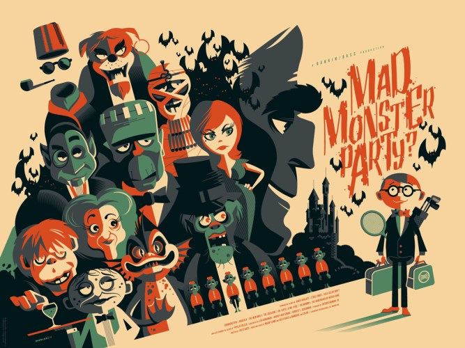 "Tom Whalen's ""Pulp Menagerie"" show at Mondo Gallery puts the Werewolf at the top of the pile featured image"