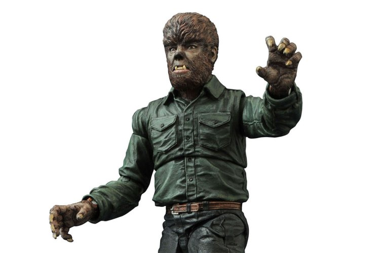 Universal Monsters Select Wolf Man action figure perfectly renders a boring icon featured image
