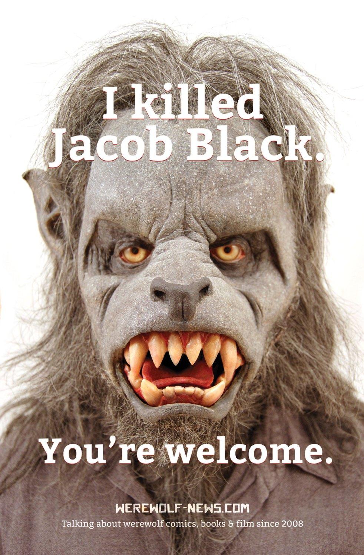 I Killed Jacob Black