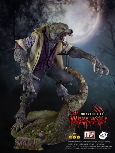 "COO MODEL's ""THE WERE WOLF"" is the most amazing werewolf figure I've ever seen featured image"