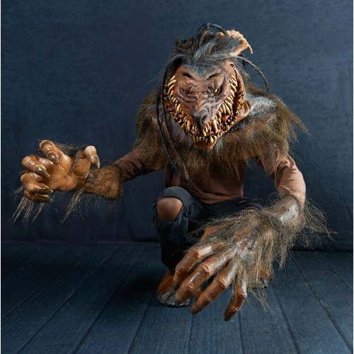 """""""Snarling Werewolf"""" is the twisted fever dream of a werewolf costume featured image"""