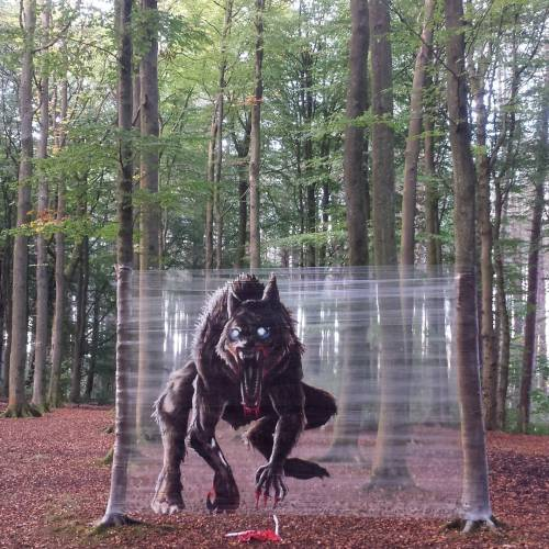Glasgow artist's woodland werewolf was calibrated for maximum scares featured image