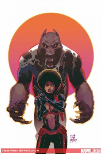Sam Wilson: The Falcon, Captain America and werewolf (again) featured image