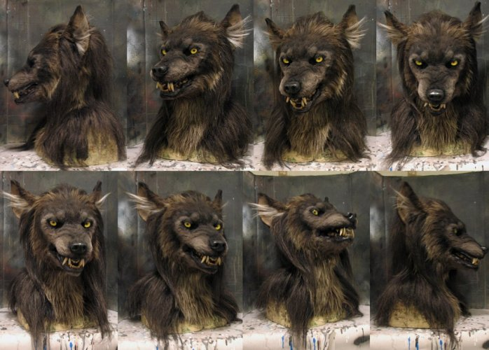 Awesome Crystumes Costumes werewolf mask: what articulated ears you have! featured image