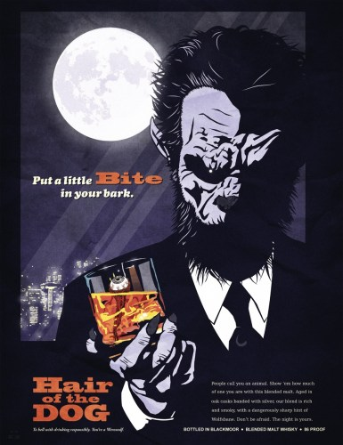 Hair of the Dog updates: Whiskey poster & Sleep Nation video with werewolf action featured image