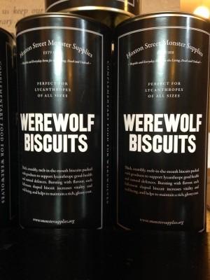 Werewolf Biscuits