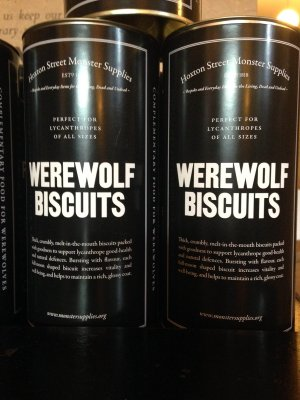 Werewolf Biscuits
