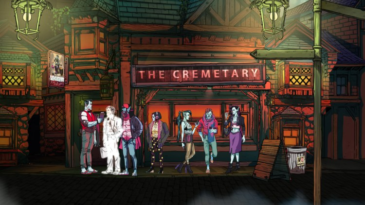 """Inhabit a werewolf in illustrated musical game """"Wailing Heights"""" from Outsider Games featured image"""