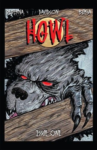 """Howl"", the comic where everyone's a werewolf except a history teacher with a baseball bat featured image"