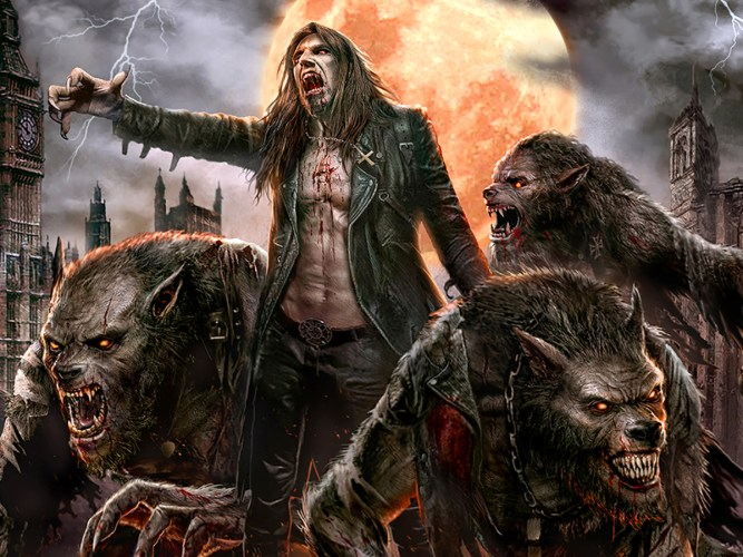 "Dušan Marković's ""Night Legion"" album cover art features amazing werewolves featured image"