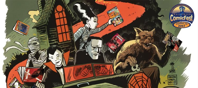 """All-ages werewolf comic """"Moonlighters"""" joins the Halloween ComicFest catalog featured image"""