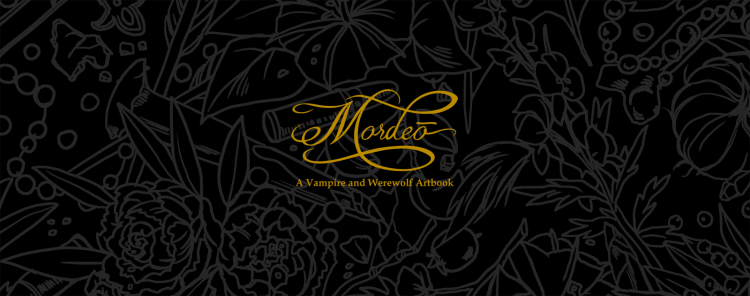 "Now's your chance to get this ""Mordeō"" werewolf & vampire art book featured image"