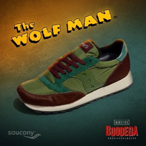"""SDCC pop-up shop debuts limited-edition, low-appeal """"The Wolf Man"""" shoes featured image"""
