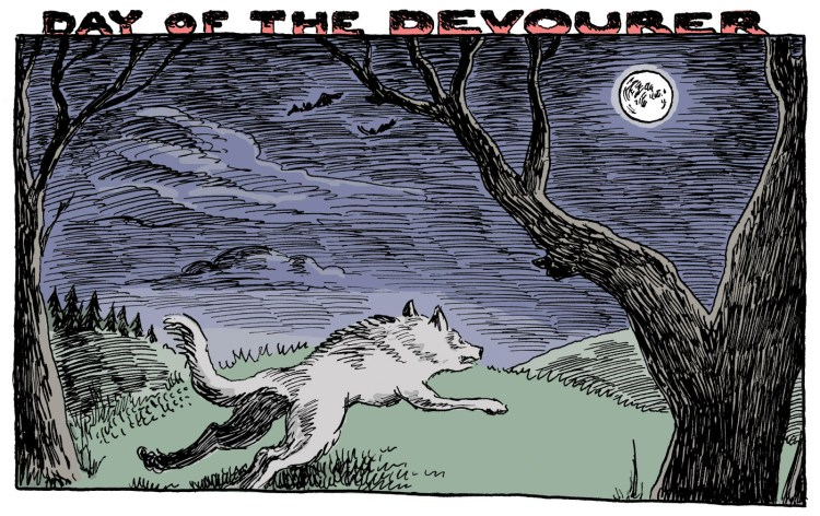 "Comic ""Day of the Devourer"" gives us a glimpse at the life of an impulsive monster featured image"