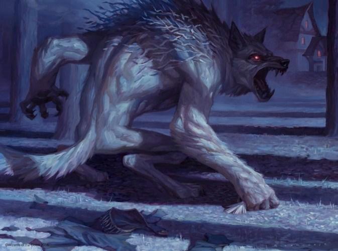 "Werewolf art timelapse – Ryan Pancoast's ""Lambholt Pacifist / Lambholt Butcher"" featured image"
