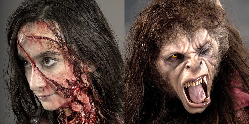 Rick Baker's daughters Rebecca and Veronica become a new American Werewolf & her victim for Halloween featured image