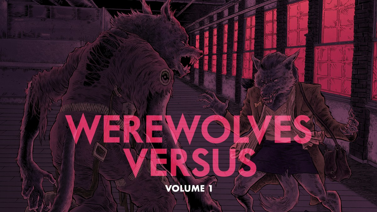 Help turn the first 5 issues of WEREWOLVES VERSUS into a book! featured image