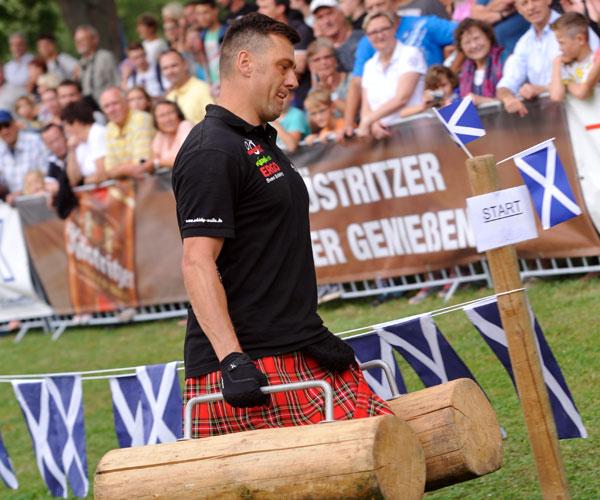 8 Clans treten bei den Highland Games an