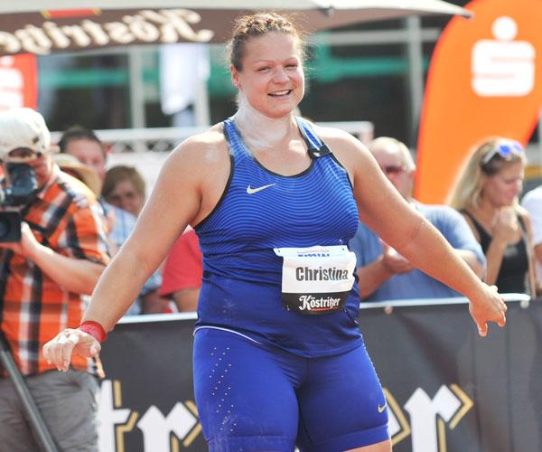 Christina Schwanitz gewinnt Silber