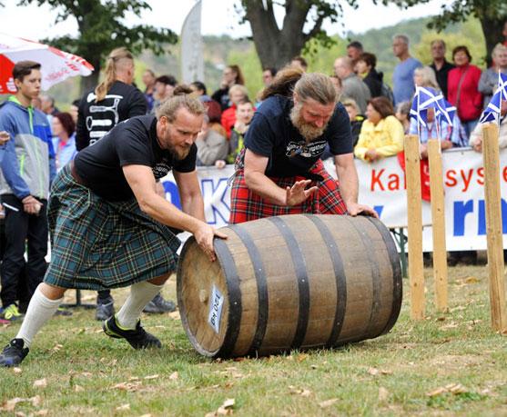 Anmeldung für die 10. Highland Games