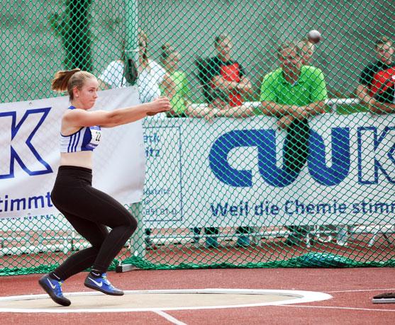 Paarwettkampf im CWK Hammerwurf-Cup