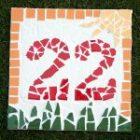 eine weitere hausnummer aus Mosaik