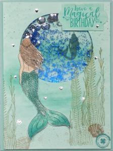 Meerjungfrau aquamarin