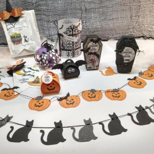 Halloween Workshop Deko Goodies Basteln