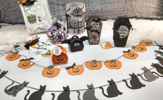 Halloween Workshop Deko Goodies Basteln