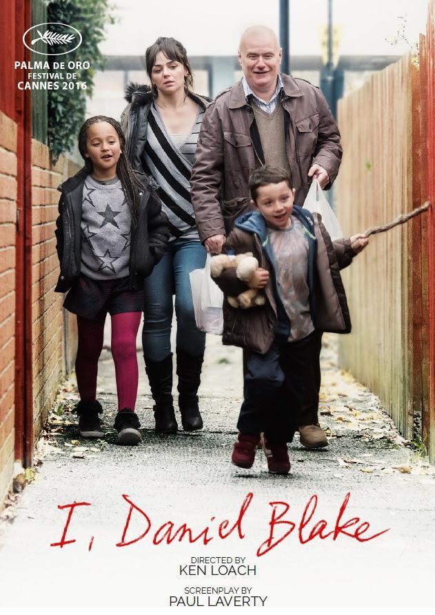 Cine: Yo, Daniel Blake, de Ken Loach  - link para ver película