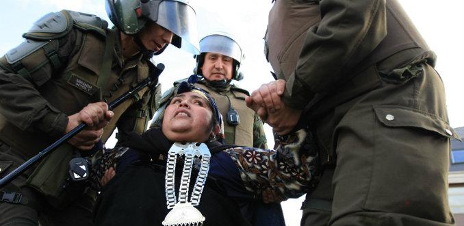Chile - Estudio de la ONU revela incremento del abuso policial en La Araucanía