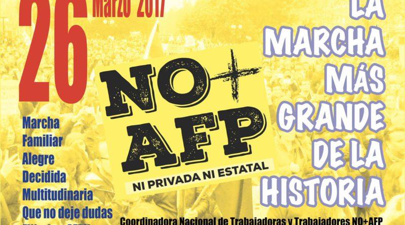 EL LLAMADO A LA MARCHA MÁS GRANDE DE LA HISTORIA EN CHILE