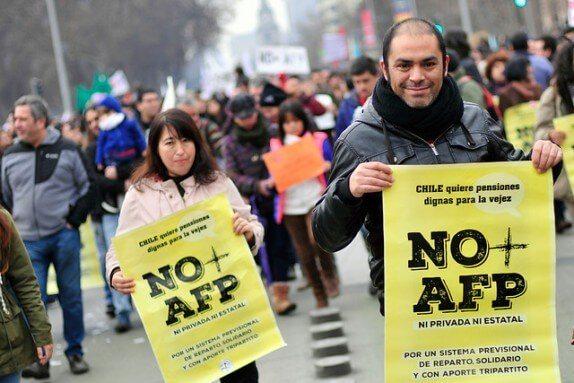 Chile - La nueva campaña calumniosa contra el movimiento NO + AFP