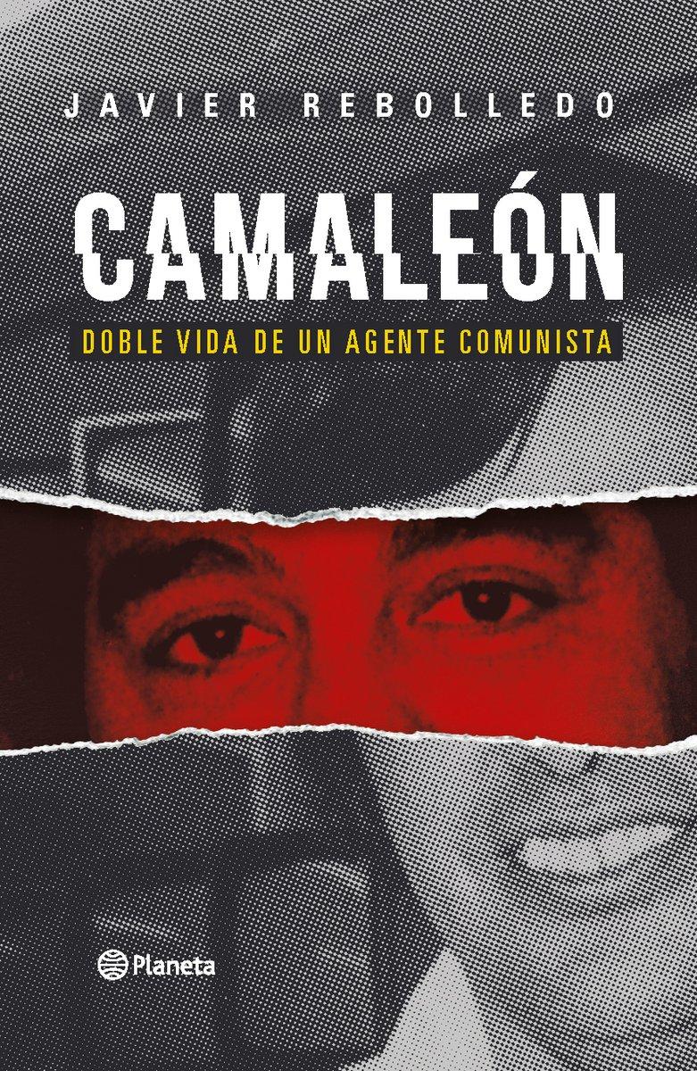Chile - Camaleón, el nuevo libro de Javier Rebolledo