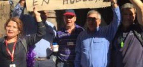 Chile –  Trabajadores del Gas hacen efectiva huelga histórica