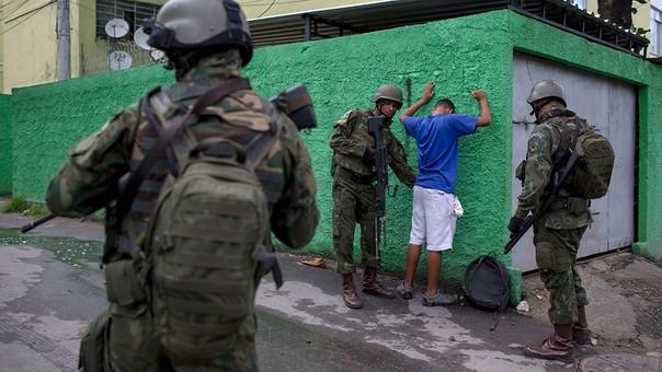 Brasil -Estado de excepción en Rio de Janeiro