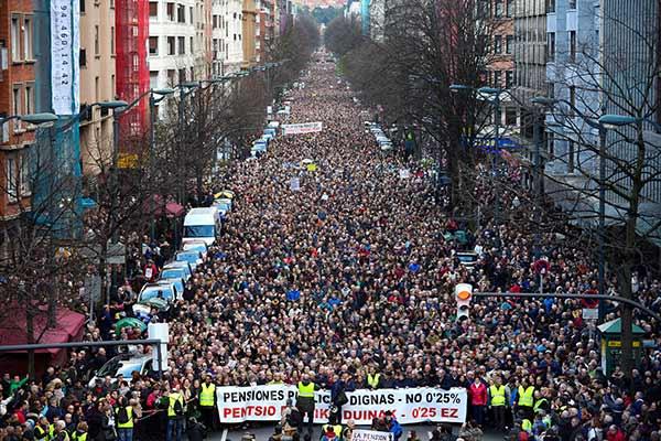 España: La rebelión de los pensionistas  - Rompiendo la paz social desde abajo