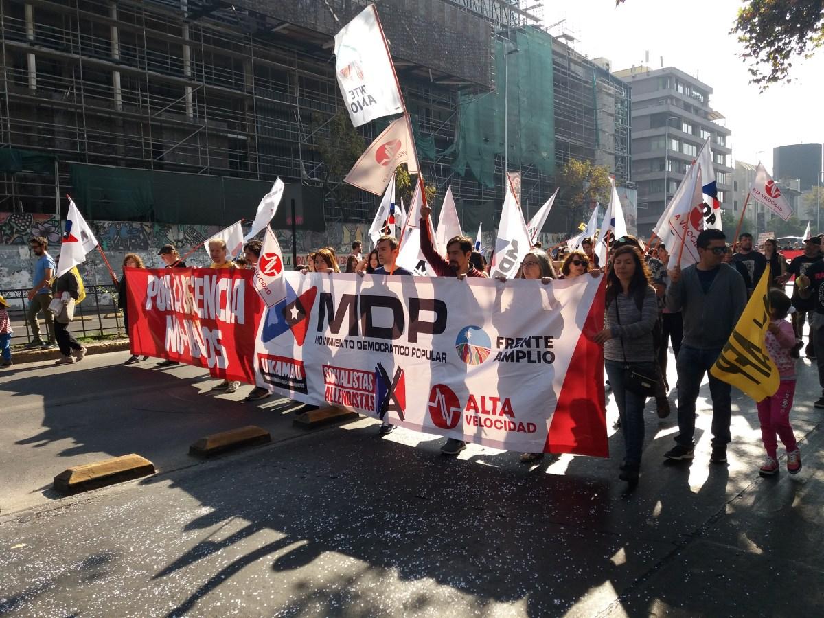 Masiva Marcha nacional de No más AFP