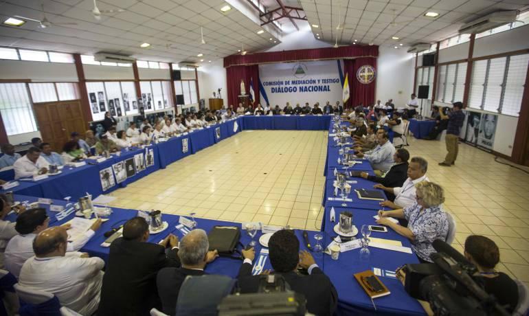 NICARAGUA: POSICIÓN DEL GOBIERNO DE RECONCILIACIÓN Y UNIDAD NACIONAL RESPECTO AL DIALOGO NACIONAL